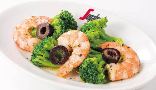 Marinade(Shrimp & Broccoli)