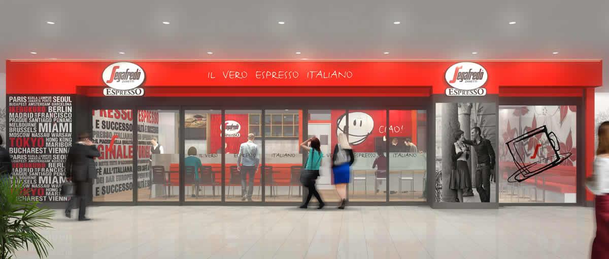 セガフレード・ザネッティ・エスプレッソ サンシャインシティ店、2017年8月18日(金) 午前7時30分にオープン