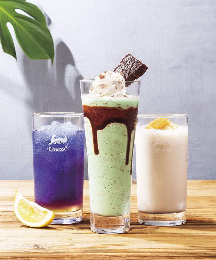 人気のチョコミントをグラニータにアレンジした『チョコミントブラウニーグラニータ』など、3種のグラニータを7月10日(火)に発売