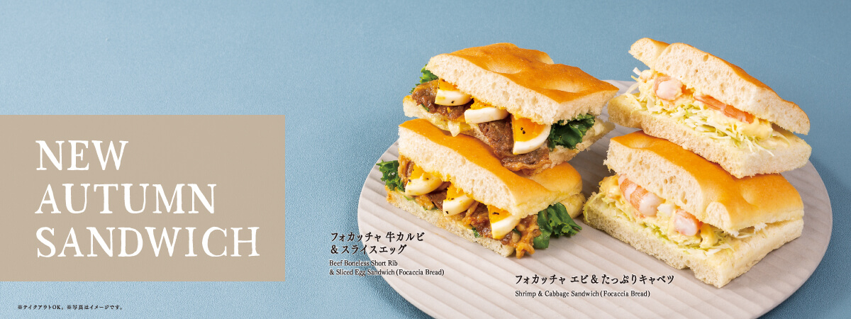2018 NEW AUTUMN SANDWICH