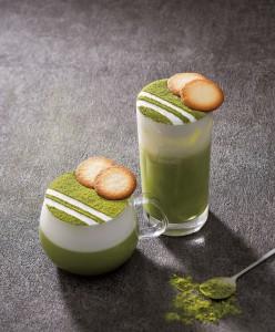 抹茶ラングドシャからインスパイアされたミルクのコクが深いリッチな『抹茶ラングドシャラテ』を2019年2月15日(金)に発売