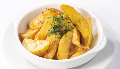 Fried Potato with Anchovy