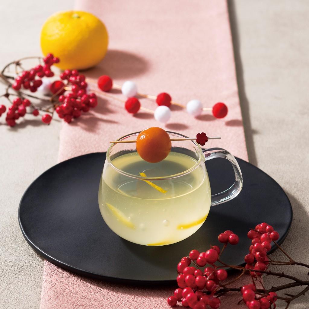ゆず茶と葛湯で2層に仕上げた年末年始にピッタリのほっこりテイスト『ニューイヤー・ハニーゆずティー』を12月26日(木)に発売