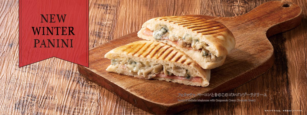 NEW WINTER PANINI
